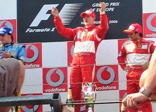 Vereinsbilder Michael Schumacher Nürburgring 2006