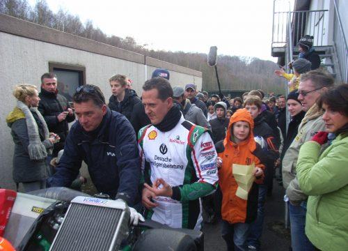 Vereinsbilder Michael Schumacher Kart