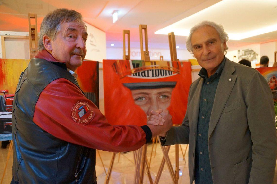 Ausstellung zu Ehren Michael Schumachers