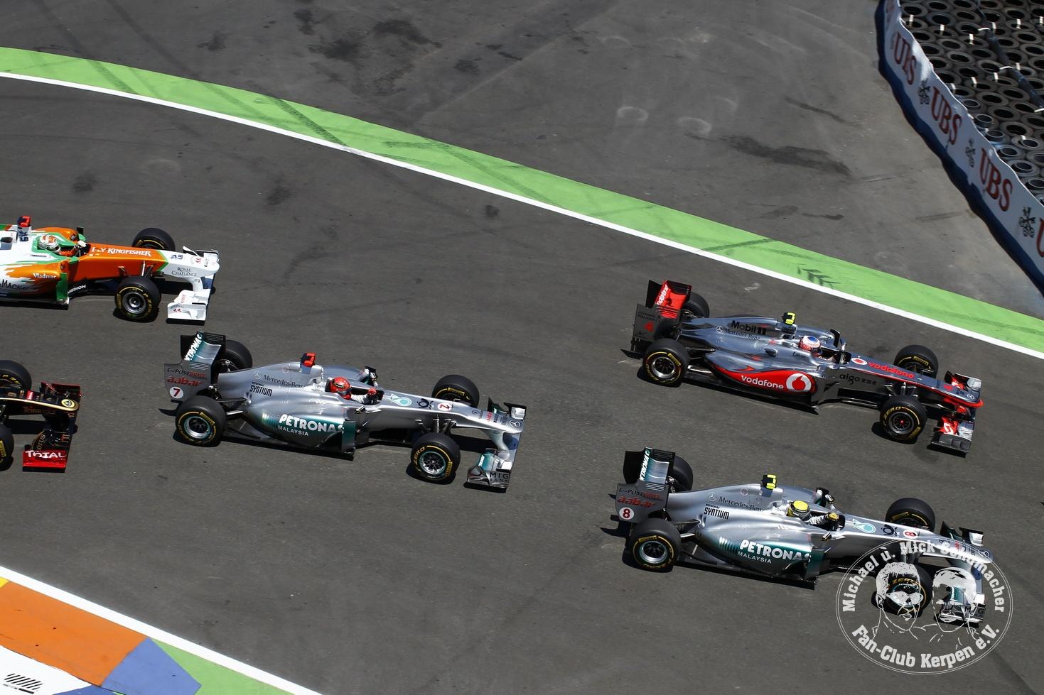 Formel 1, Grand Prix Europa 2011, Valencia, Strassenkurs, 26.06.2011