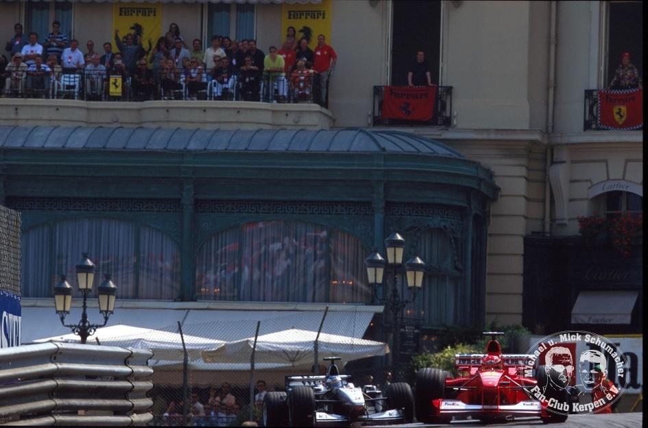 Formel 1, Grand Prix Monaco 2000, Monte Carlo, 04.06.2000