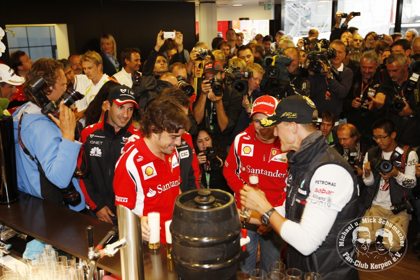 Formel 1, Grand Prix Belgien 2011, Spa-Francorchamps, 28.08.2011