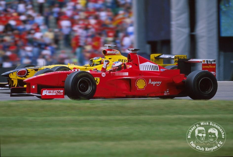Formel 1, Grand Prix Deutschland 1998, Hockenheimring, 02.08.1998
