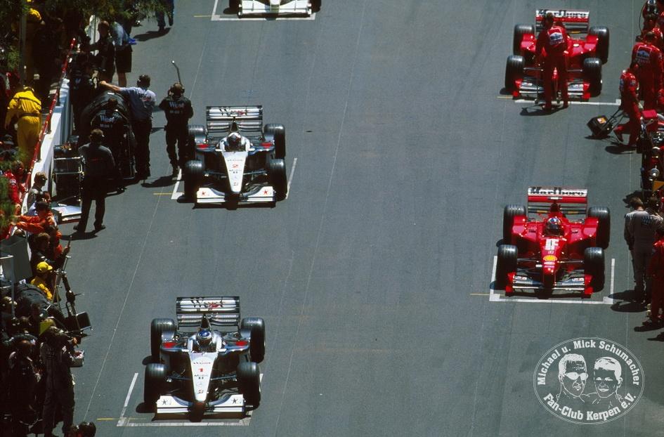 Formel 1, Grand Prix Monaco 1999, Monte Carlo, 16.05.1999