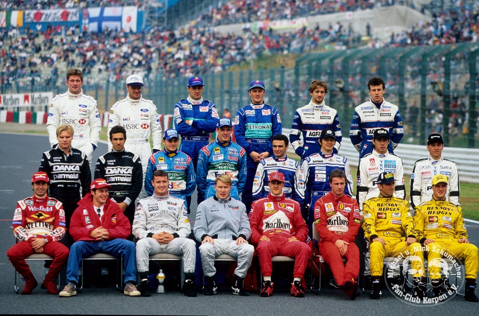 Formel 1, Grand Prix Japan 1998, Suzuka, 01.11.1998