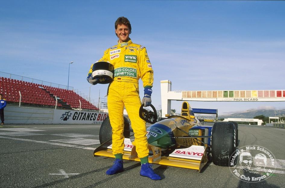 Formel 1, ams-Fotoshooting, Paul Ricard, Januar 1992