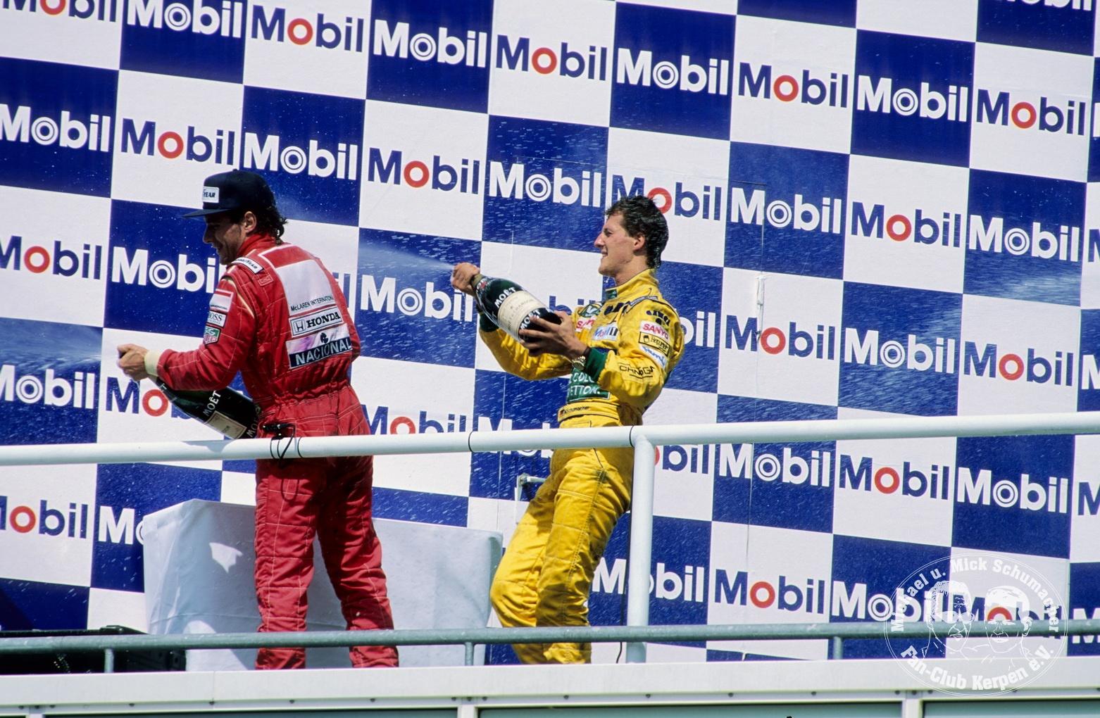 Formel 1, Grand Prix Deutschland 1992, Hockenheimring, 26.07.1992