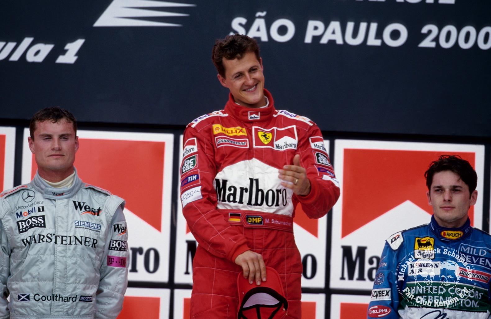 Formel 1, Grand Prix Brasilien 2000, Interlagos, 26.03.2000